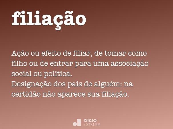 filia��o