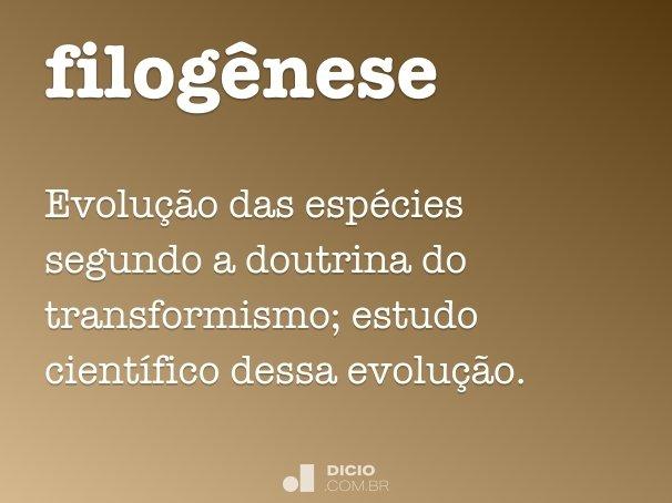 filogênese