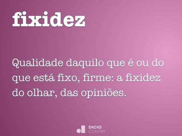 fixidez