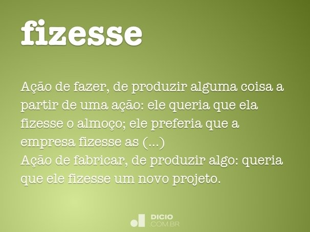 fizesse