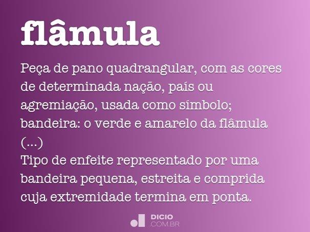 flâmula