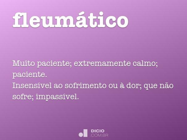 fleumático