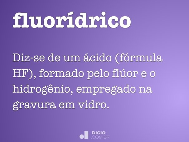 fluorídrico