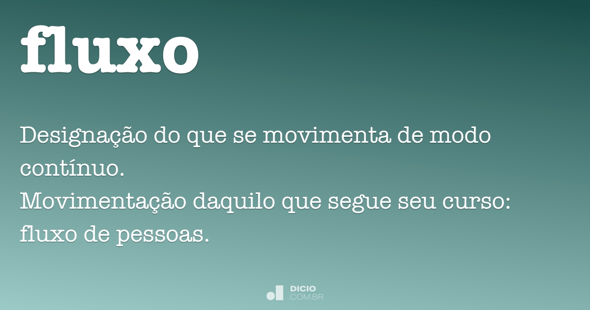 fluxo dicio dicionrio online de portugus