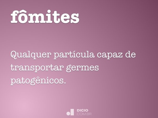 fômites