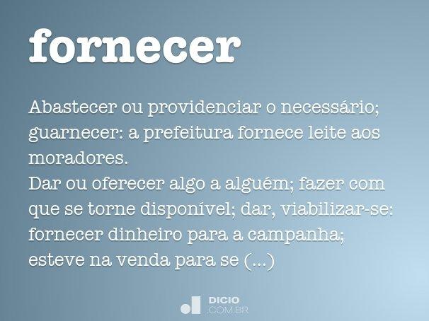 fornecer