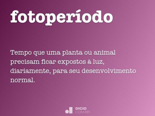 fotoperíodo
