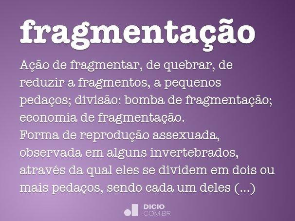 fragmenta��o