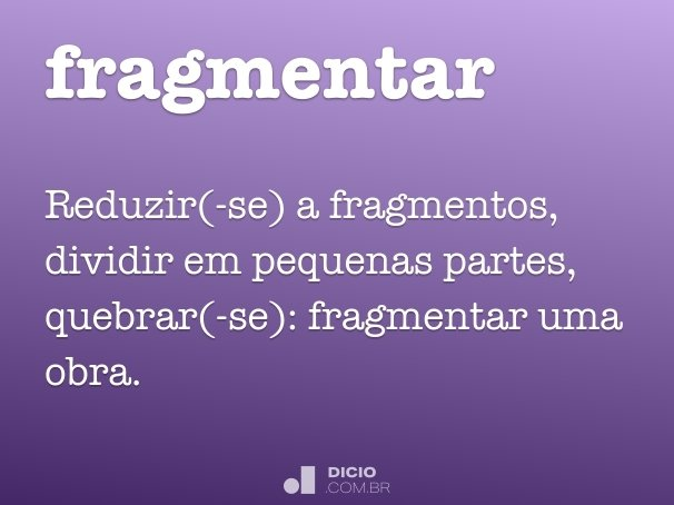 fragmentar