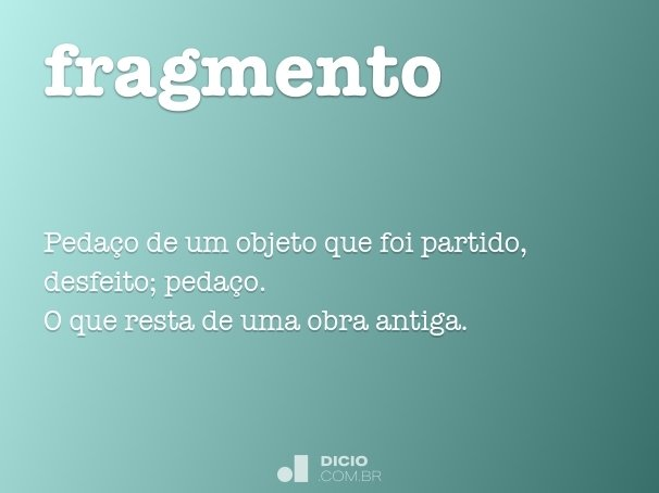 fragmento