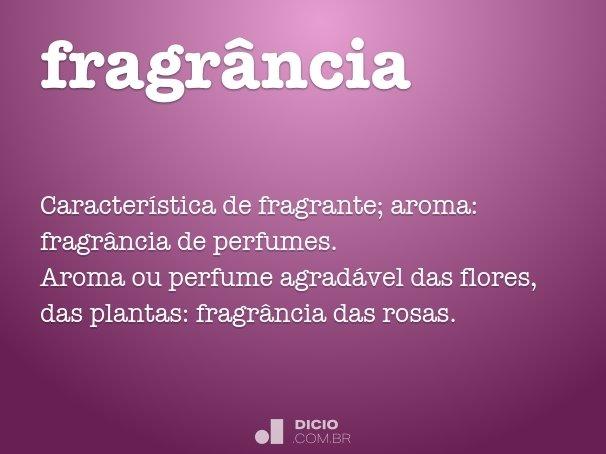 fragr�ncia