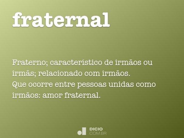 fraternal