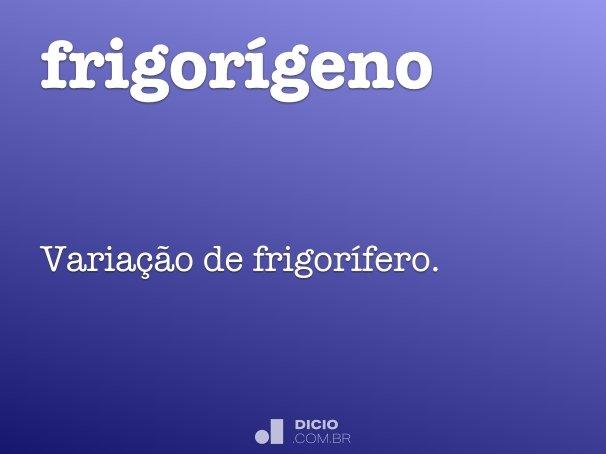 frigor�geno