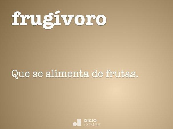 frug�voro