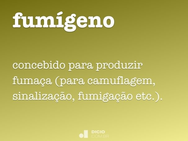 fum�geno