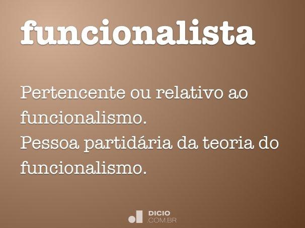 funcionalista