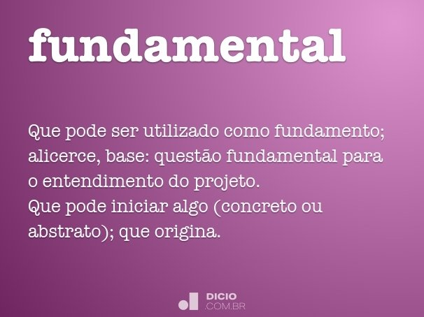 fundamental