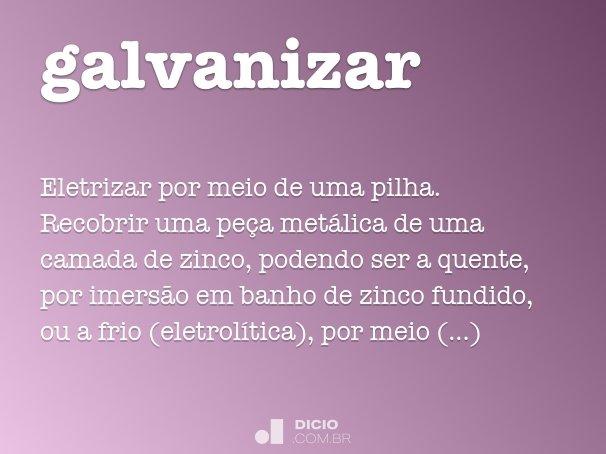 galvanizar