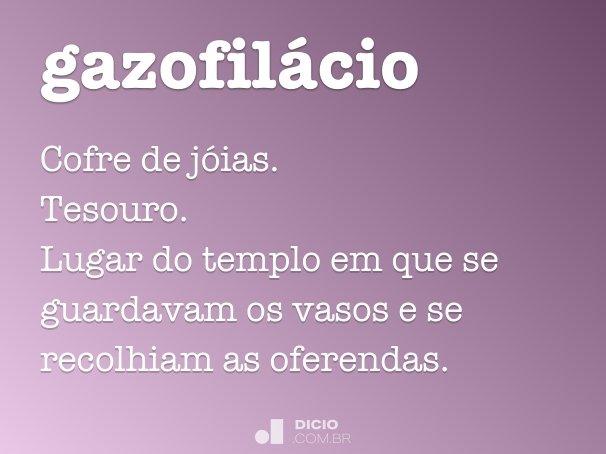 gazofilácio
