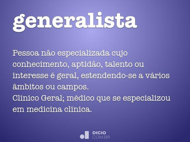 generalista