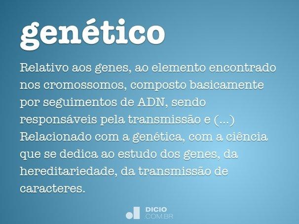 genético