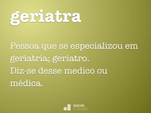 geriatra
