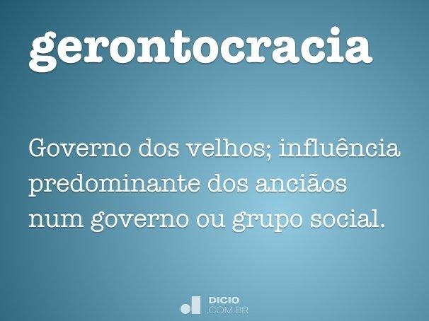 gerontocracia