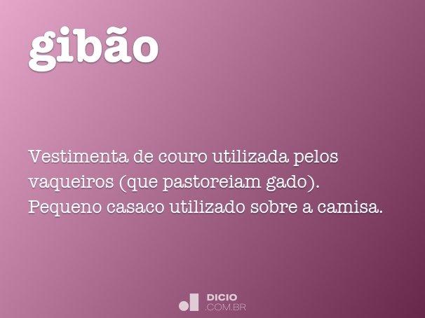 gibão