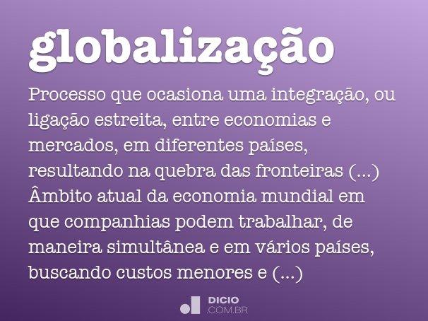globaliza��o