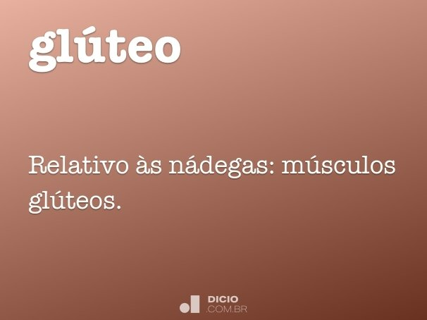 glúteo
