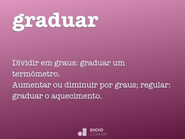 graduar