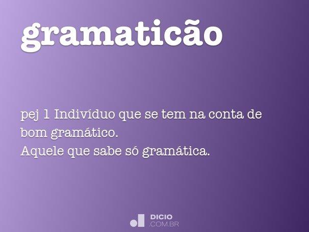 gramaticão