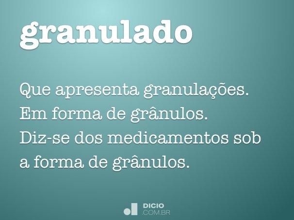 granulado