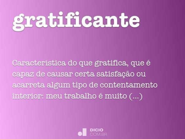 gratificante