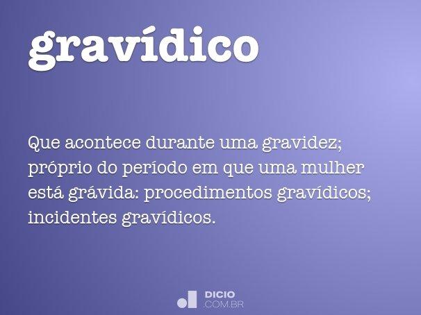 gravídico
