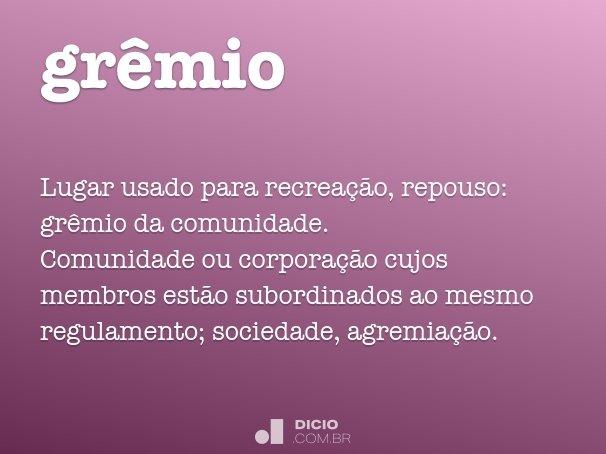 gr�mio