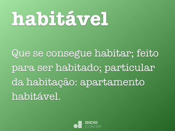 habitável