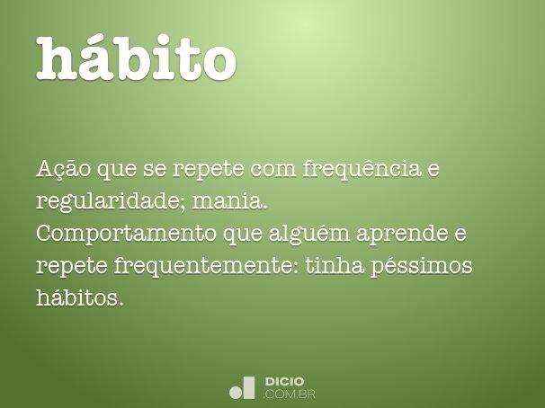 hábito