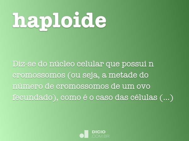 haploide