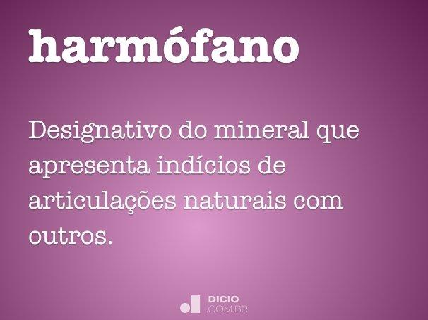 harmófano