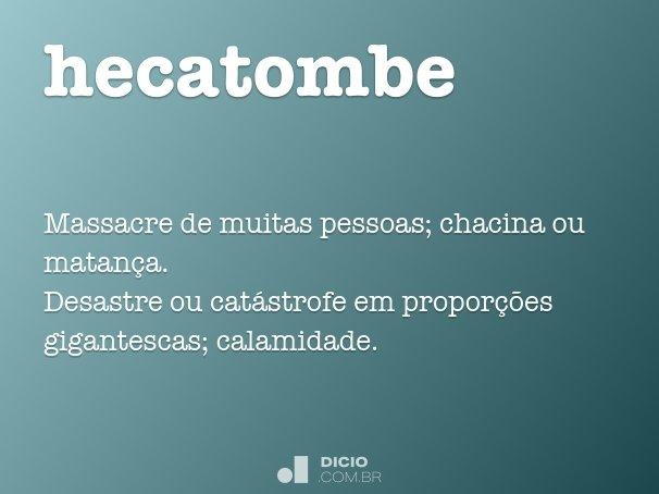 hecatombe