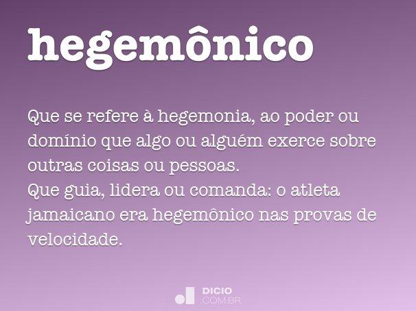 hegem�nico
