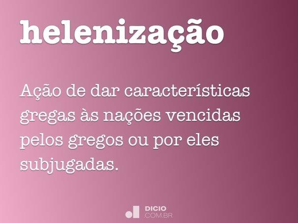 heleniza��o