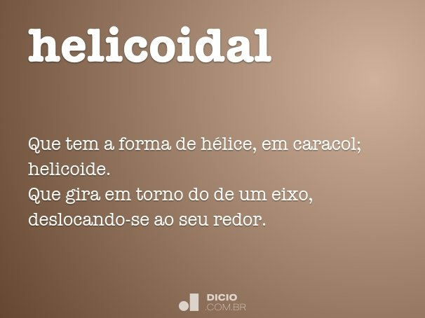 helicoidal