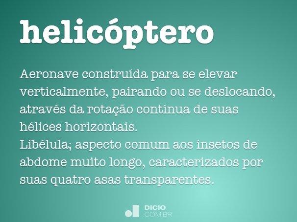 helic�ptero