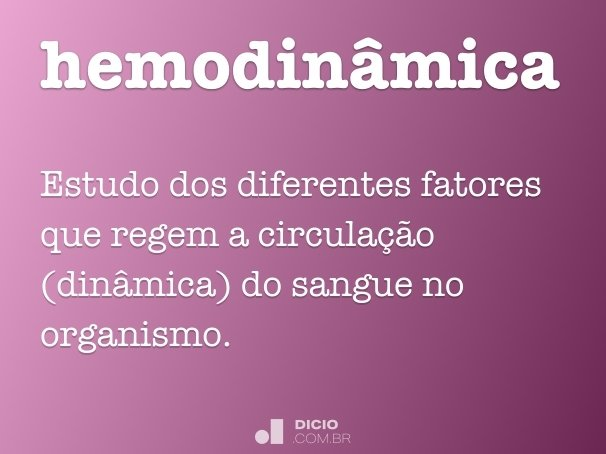 hemodin�mica