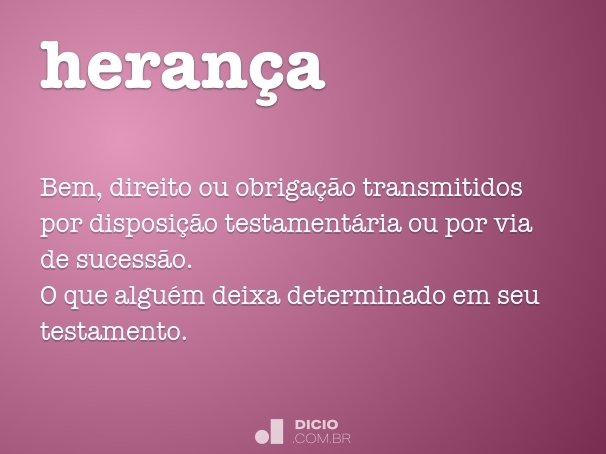 heran�a
