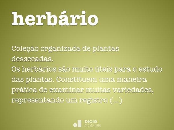 herb�rio