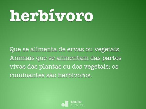 herb�voro