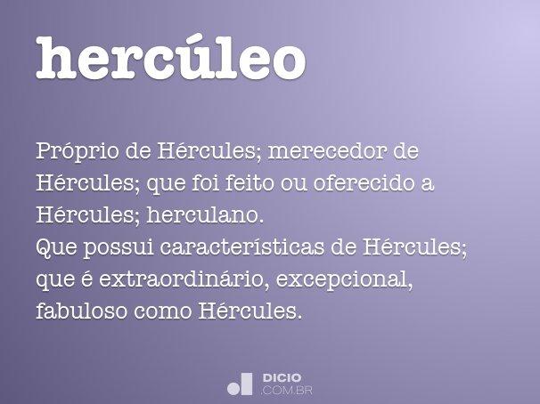 hercúleo